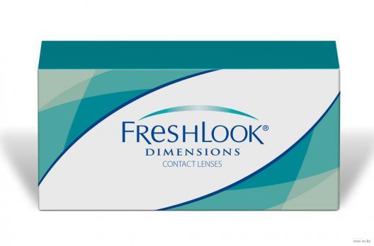 Цветные контактные линзы FreshLook Dimensions (Без коррекции)