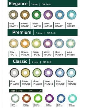 Цветные линзы Hera Color