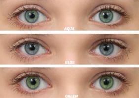 Оттеночные контактные линзы Ok2See (аналоги Ultra Flex)