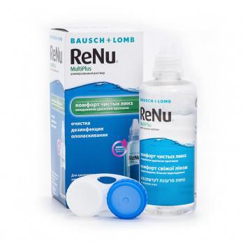 Универсальный раствор ReNu MultiPlus (объем 120 мл)