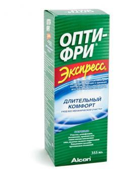 Универсальный раствор OPTI-FREE EXPRESS (объем 355 мл)
