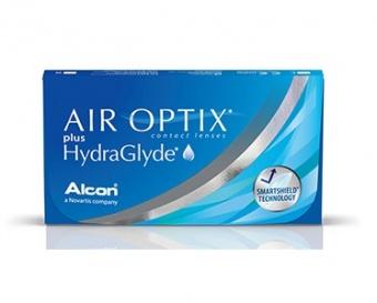 Контактные линзы Air Optix plus HydraGlyde